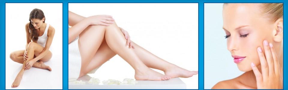 laser effects Bikini side hair removal